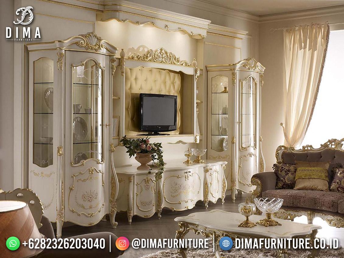Desain Bufet TV Terbaru Jepara Supreme Product DF-1770