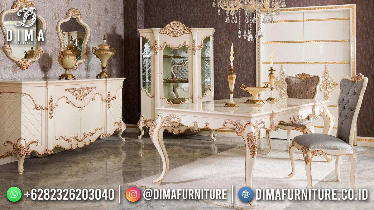 Harga Meja Makan Terbaru Luxury Shabby Classic Style Df-1803
