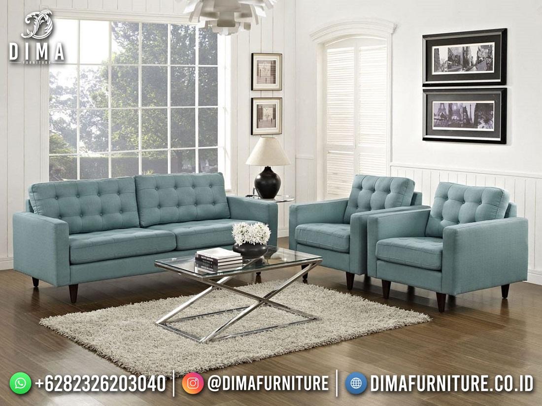 Jual Satu Set Kursi Tamu Minimalis Modern Furniture Jepara DF-1831