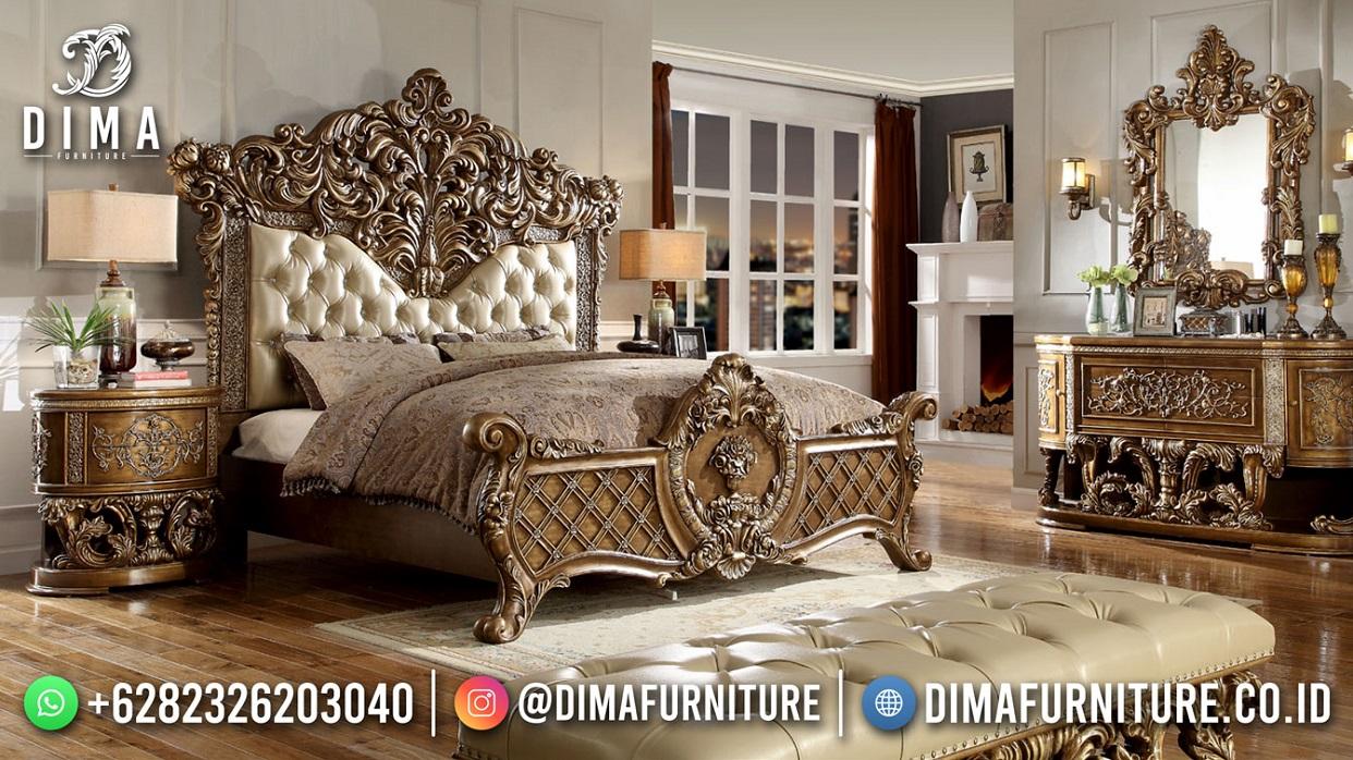 Kingdom Style Tempat Tidur Sultan Terbaru Furniture Jepara DF-1825