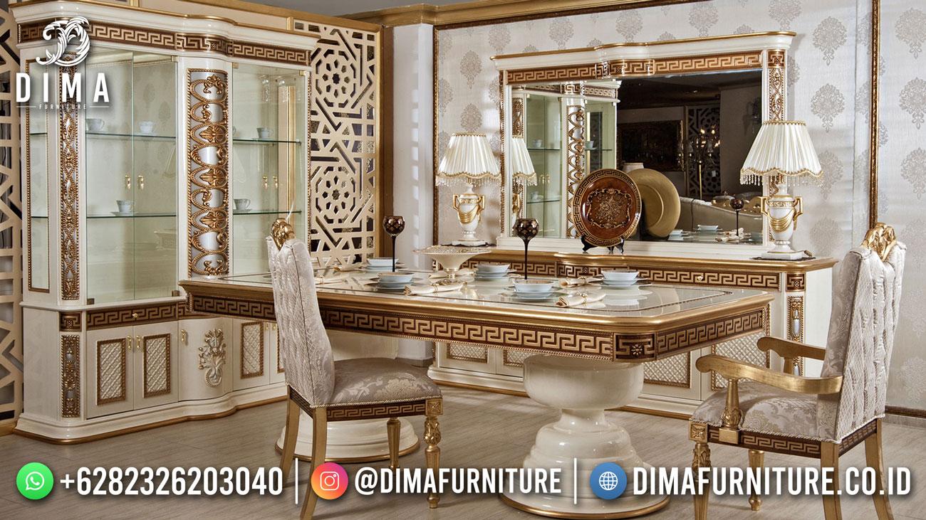 Meja Makan Jakarta Mewah Terbaru Model Sultan Glamorous DF-1733