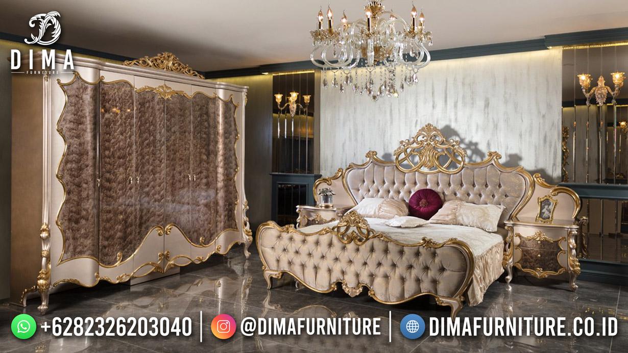 Set Kamar Tidur Jepara Terbaru High Quality Elegant Design DF-1807