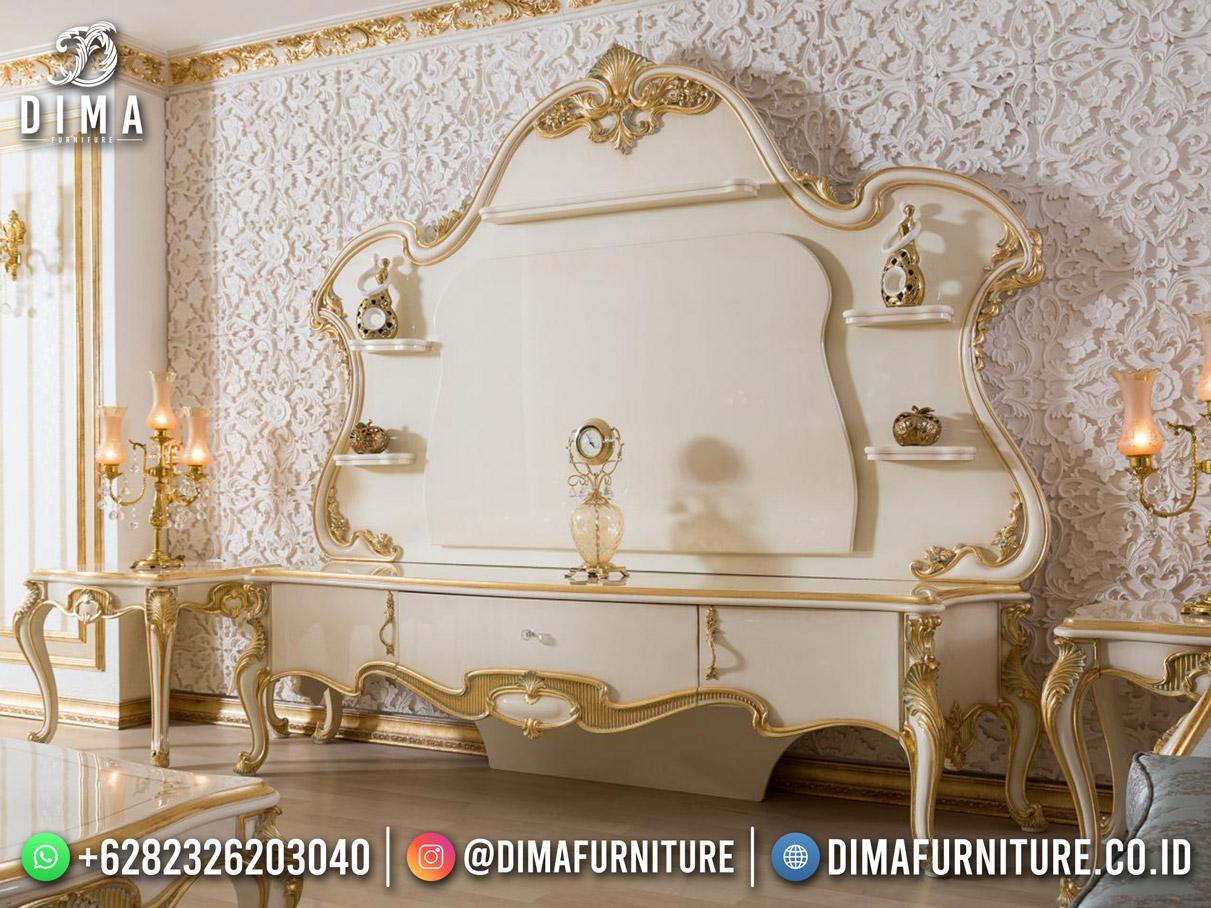 Super Luxury Bufet TV Sultan Terbaru Jepara Modern Classy Furniture DF-1771