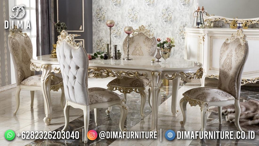 Beautifull Design Meja Makan Mewah Terbaru High Quality DF-1851