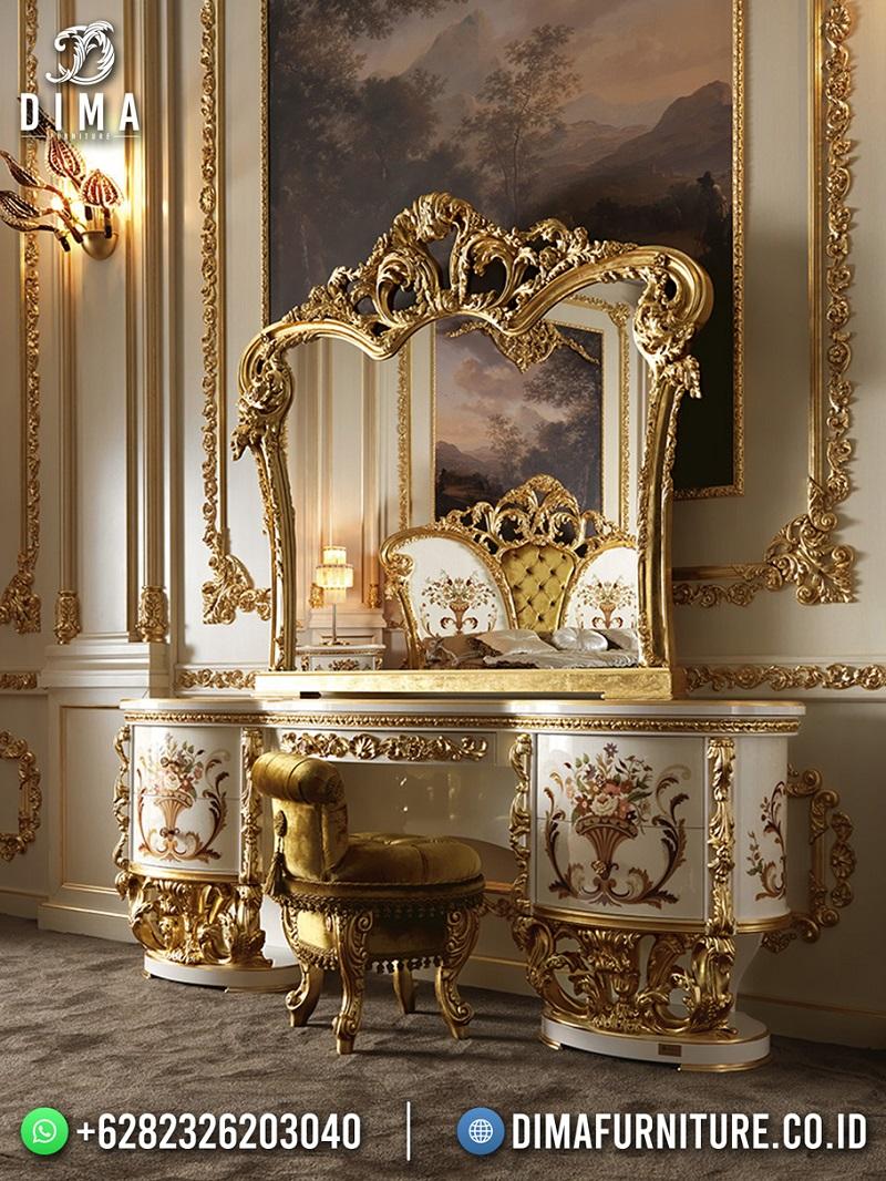 Desain Meja Rias Mewah Versailles Luxury Premiere Style Jepara DF-1890