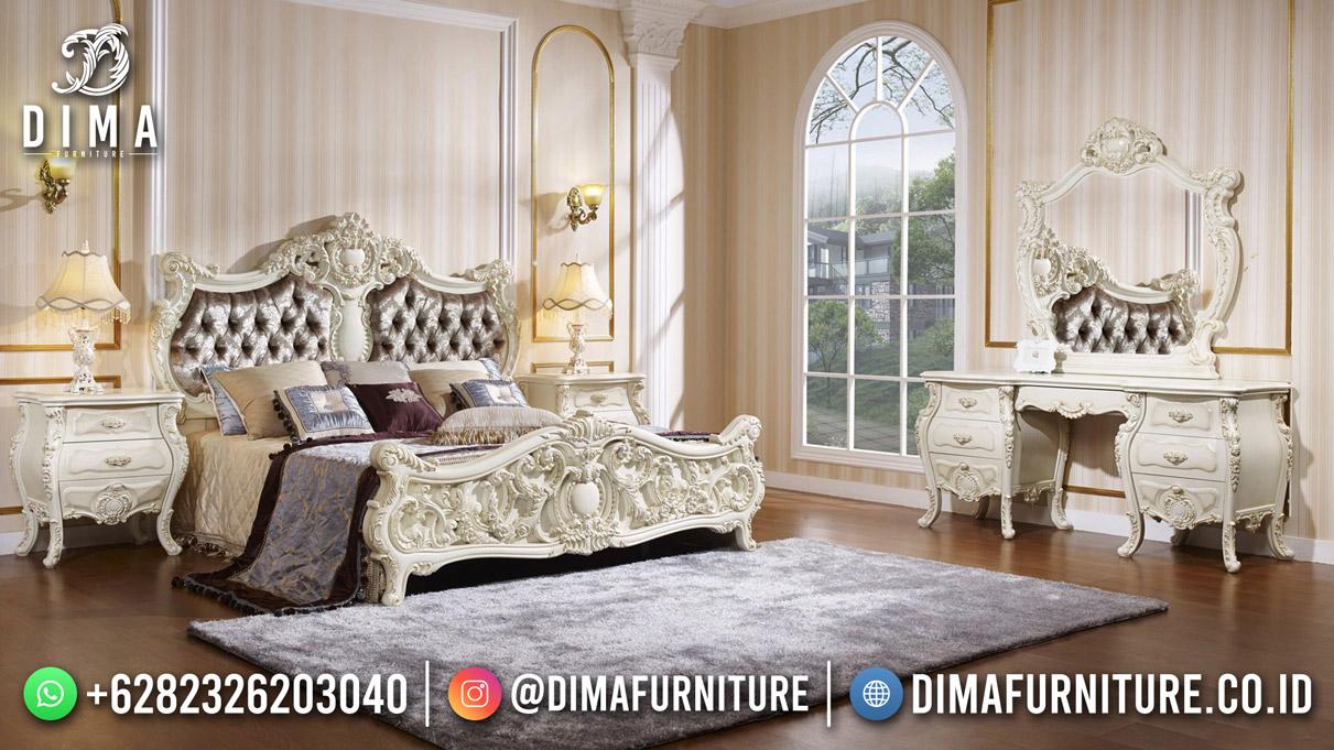 Dipan Kamar Set Mewah Terbaru Luxury Carving Furniture Jepara DF-1911