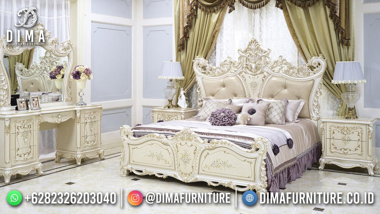 Empire Style Kamar Set Mewah Jepara Luxury Carving Best Furniture Terbaru DF-1905