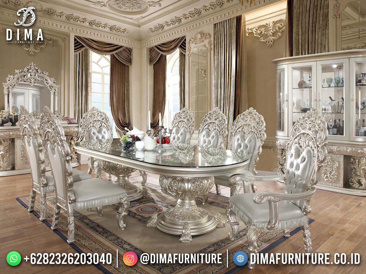 Giordiona Meja Makan Mewah Jepara Luxury Shabby Best Product DF-1864