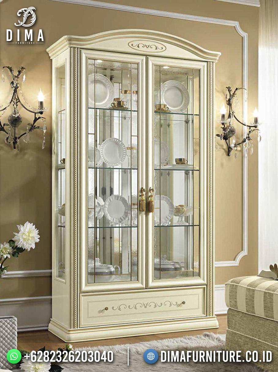 Lemari Hias Pajangan Terbaru Ivory Combine Furniture Game DF-1855