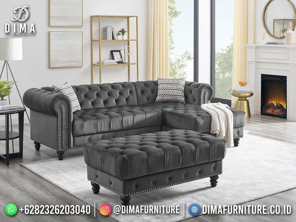 Lilya Sofa Tamu Minimalis Klasik New Release Furniture Jepara DF-1867