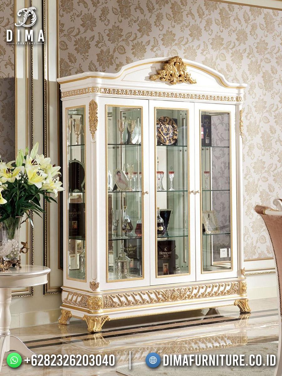 Luxury Shabby Lemari Hias Terbaru Jepara High Quality DF-1854
