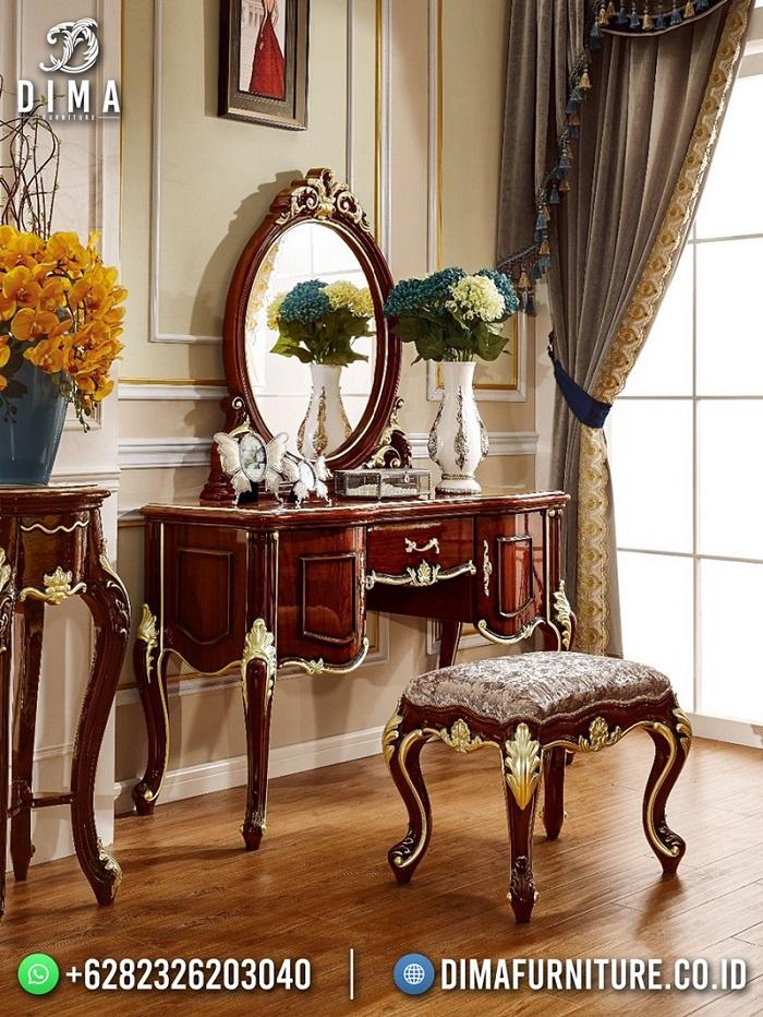 New Model Meja Rias Jati Jepara Luxury Classic Design Best Collection DF-1889