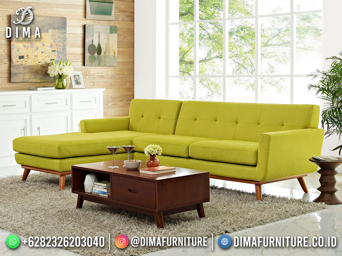 Retro Style Sofa Tamu Terbaru Minimalis Classy Furniture Jepara DF-1848