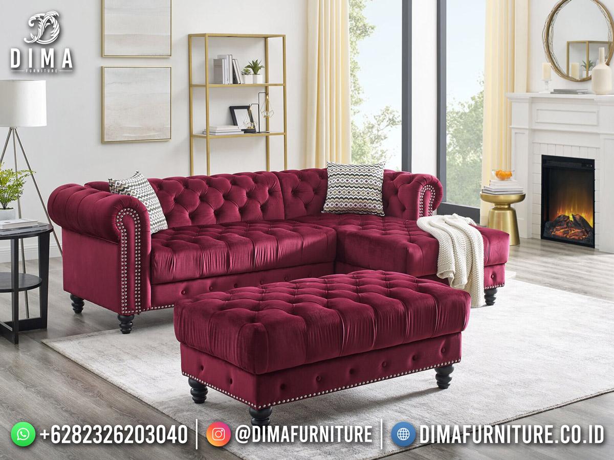 Terbaru Sofa Tamu Minimalis Kota Jepara Elegant Luxury Design DF-1847