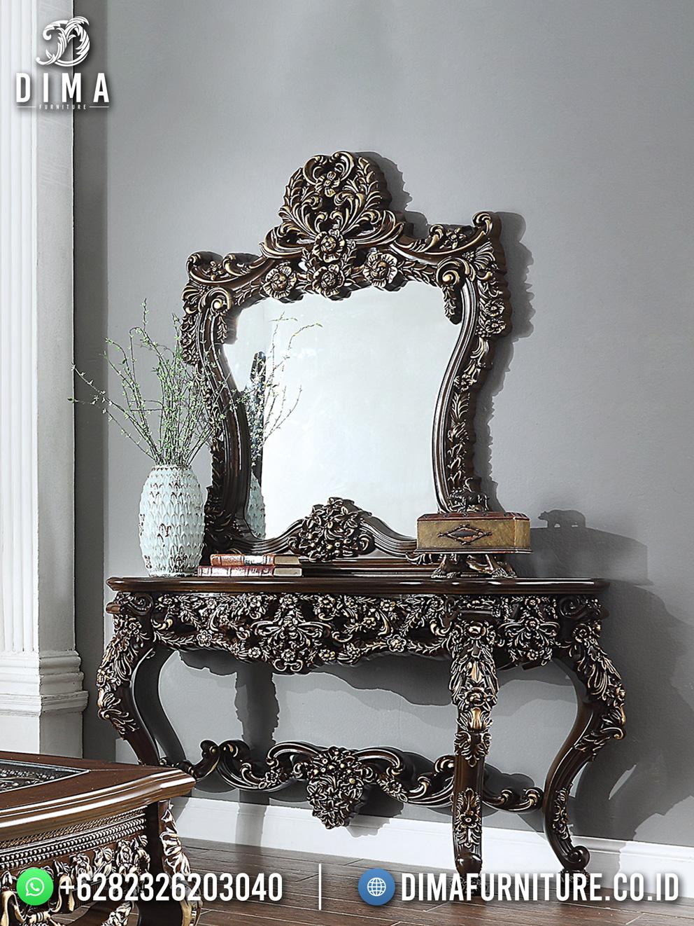 Elegant Luxury Meja Konsul Jepara Terbaru Exclusive Carving Best Detail DF-1971