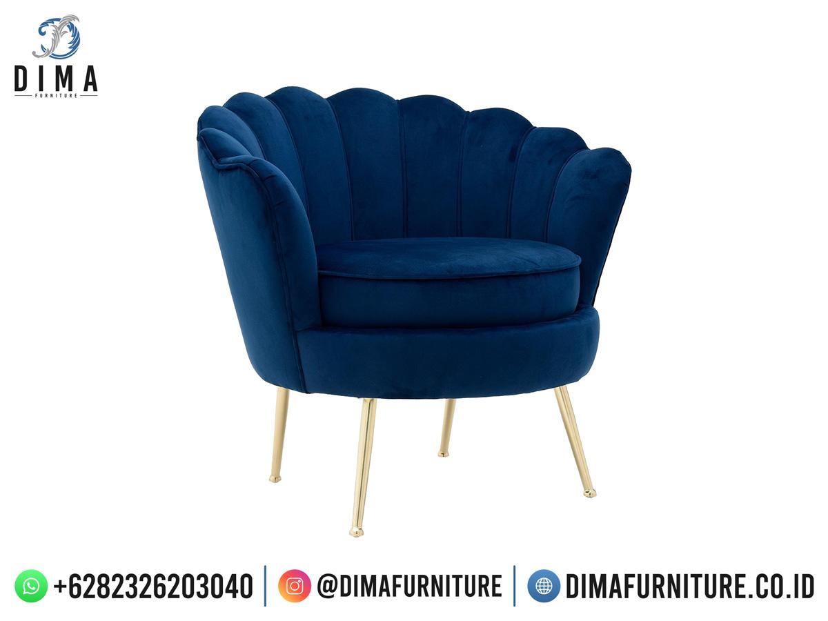 Industrial Furniture Kursi Sofa Jepara Murah Beauty Shell Top Design DF-1978