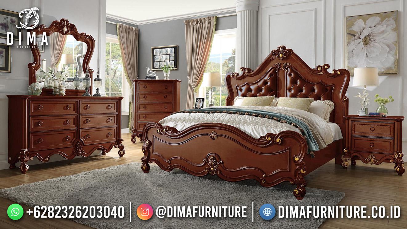 Kamar Set Minimalis Terbaru Jati Antik Furniture Murah DF-1960
